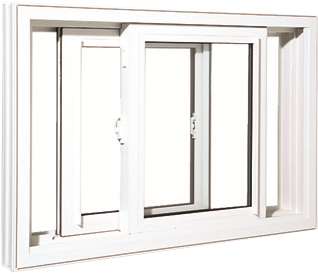 Smart Windows Colorado Double Slider Window