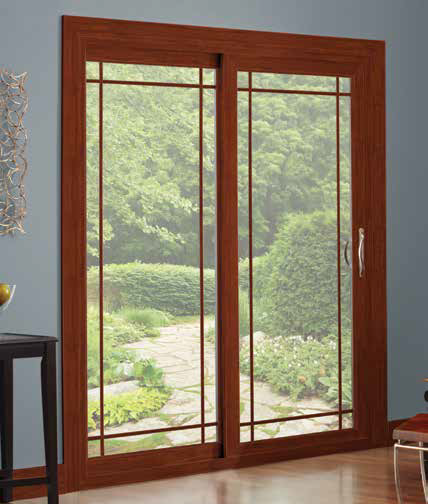 Mezzo Contemporary Style Patio Door sold by Smart Windows Colorado