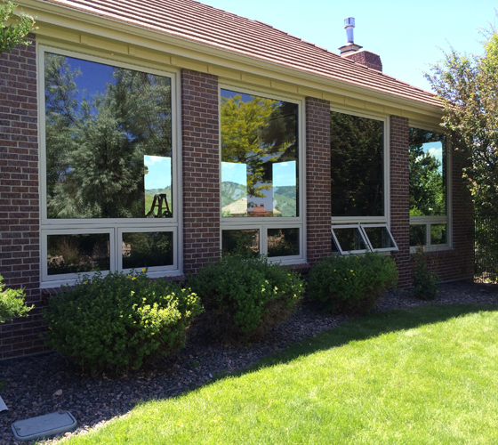 Awning Window Exterior - Smart Windows Colorado