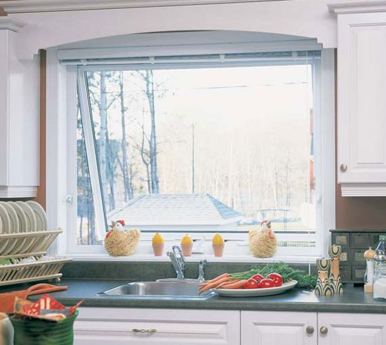 Awning Window Kitchen - Smart Windows Colorado