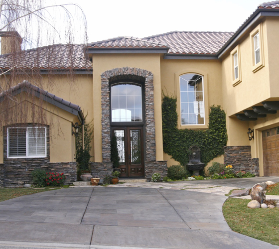 House with Elegant Single Slider Windows - Smart Windows Colorado