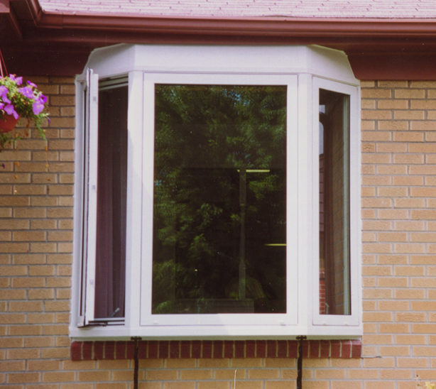 Bay Window Exterior View - Smart Windows Colorado