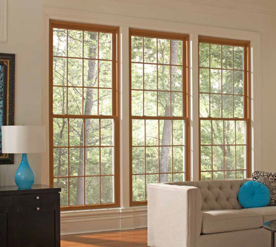 Single Hung Windows Interior View - Smart Windows Colorado