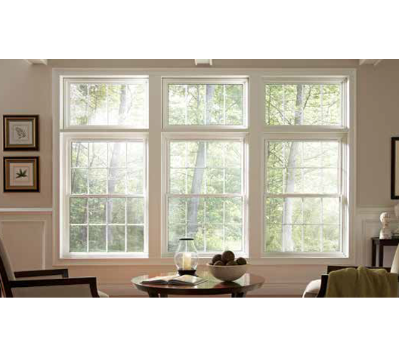 Single Hung Windows White - Smart Windows Colorado