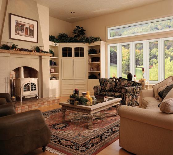 Elegant Casement Windows Interior - Smart Windows Colorado