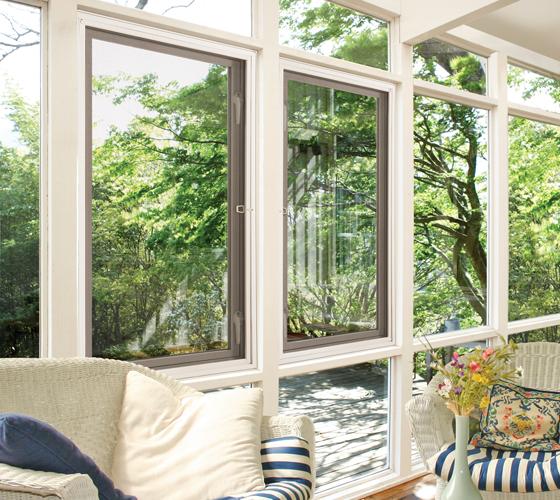 Beautiful Casement Windows Interior - Smart Windows Colorado