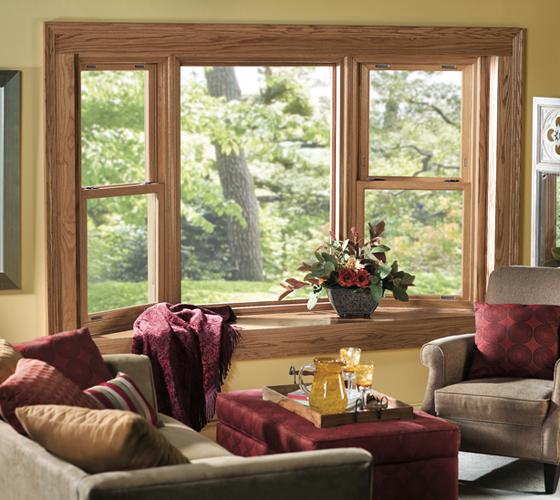 Bay Window Interior View - Smart Windows Colorado