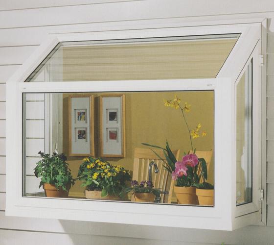 Garden Windows Exterior with Plants - Smart Windows Colorado