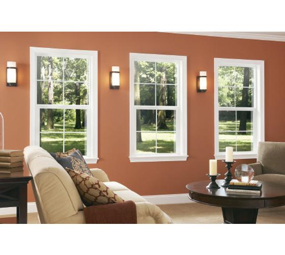 Single Hung Windows Interior View - Smart Windows Colorado